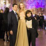 Con Ludmilla Voronkina e Lidia Cardinale