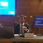 Speech presso l'Ambasciata degli Emirati Arabi Uniti a Roma in occasione del Festival della Diplomazia