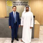 con Mohd Almusharrak, CEO Invest in Sharjah