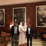 con Matteo TIroni e HE Ayman Al Afifi a Dubai