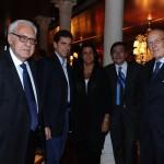 con Mario Boselli, Gianpiero Ferrari, Giorgio Cannara