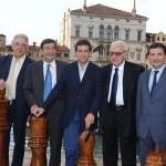 con Muzzolon (MIPEL), Cannara (MIPEL), Ferrari (EXPOVENICE) e Aromatici (MICAM - ANCI)