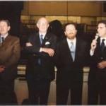 con Riccardo De Corato e Mario Boselli