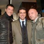 con Stefano Gabbana e Domenico Dolce a Mosca