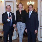 con il Prefetto di Milano e Ludmilla Voronkina - Prefettura