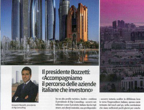 Abu Dhabi, la chance per il made in Italy