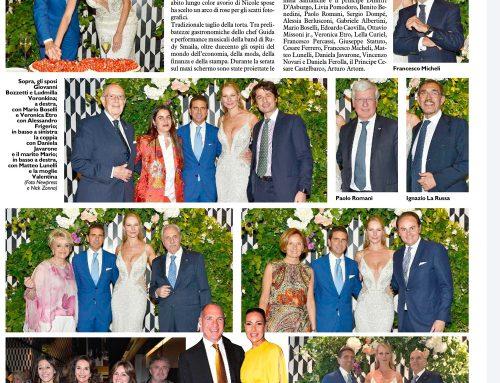 Ludmilla e giovanni Bozzetti ancora… sposi