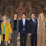 Con Bob Krieger, Daniela Iavarone, Anna Repellini, Francois Sastre, Ileana Turrini e Paola Neri