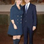 con Elena D'ambrogio a Fashion show Lidia Cardinale Couture