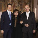 con Lidia Cardinale e Gabriele Albertini
