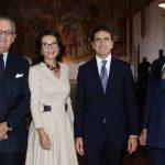 con Patrizia Signorini e Gabriele Albertini