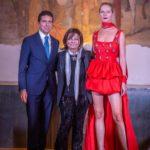 Fashion Show Lidia Cardinale 29 settembre 2020 - Giovanni Bozzetti, Lidia Cardinale e Ludmilla Voronkina